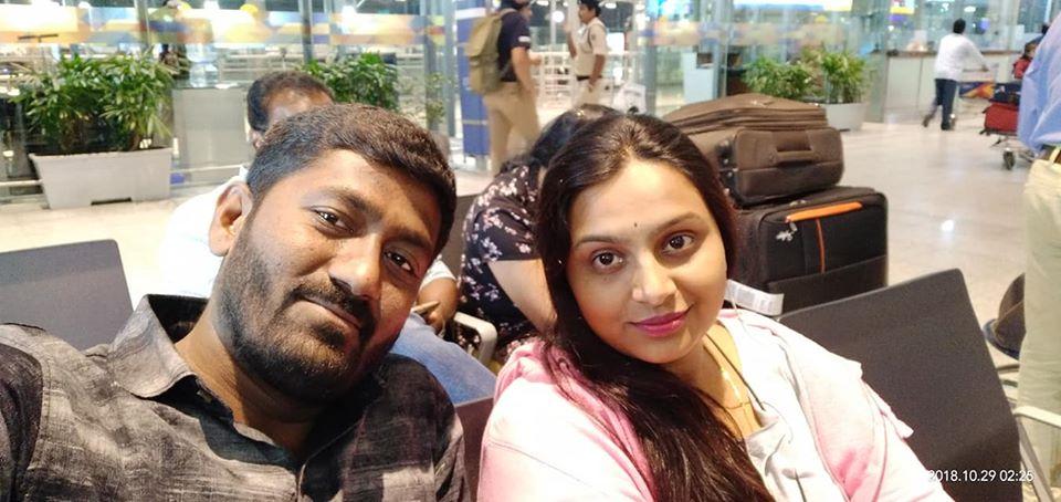 Anupama Swathi with her Husband