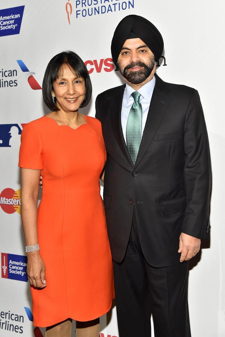Ritu Banga with Ajay Banga