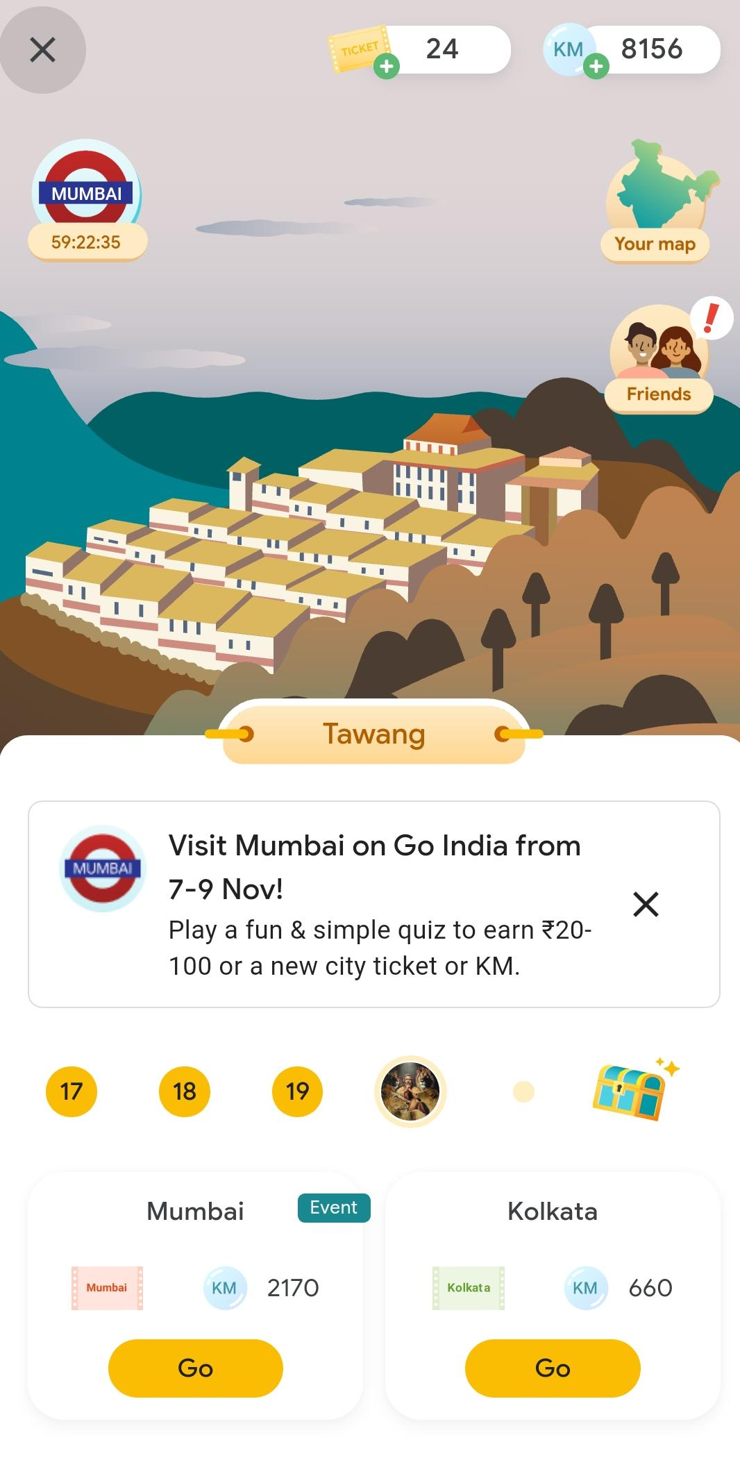 mumbai quiz answers google pay
