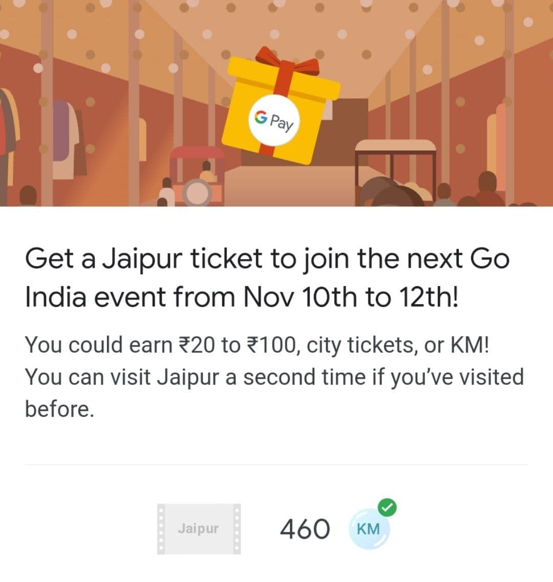 gpay jaipur event answer
