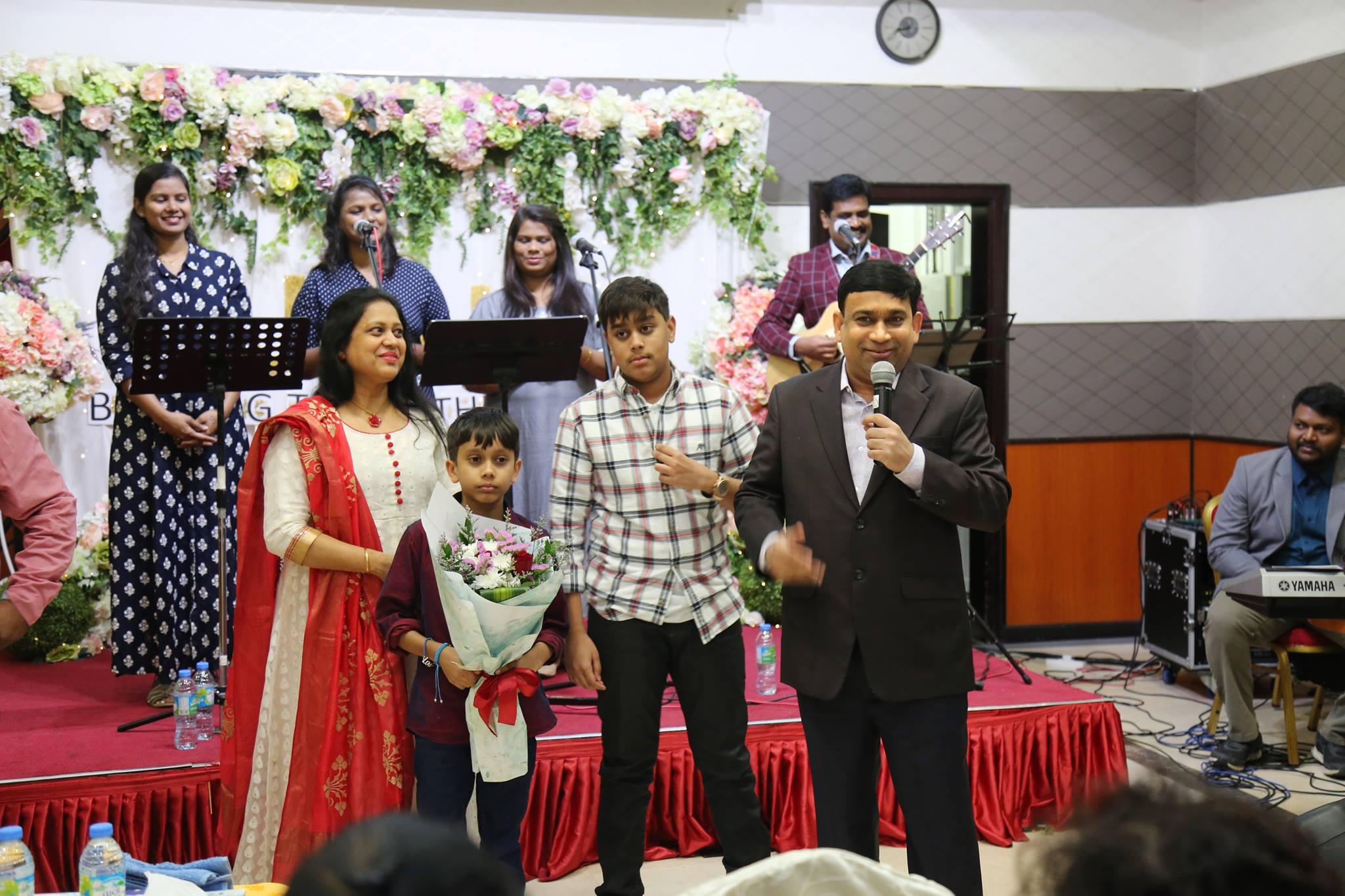 Shyam Kishore Family